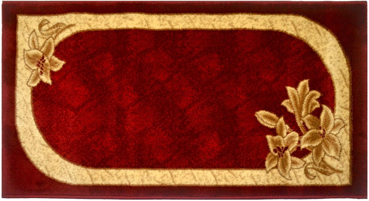 Ковер Kamalak Tekstil, 60 х 110 см. УК-0581 ковер kamalak tekstil овальный 60 x 110 см ук 0247