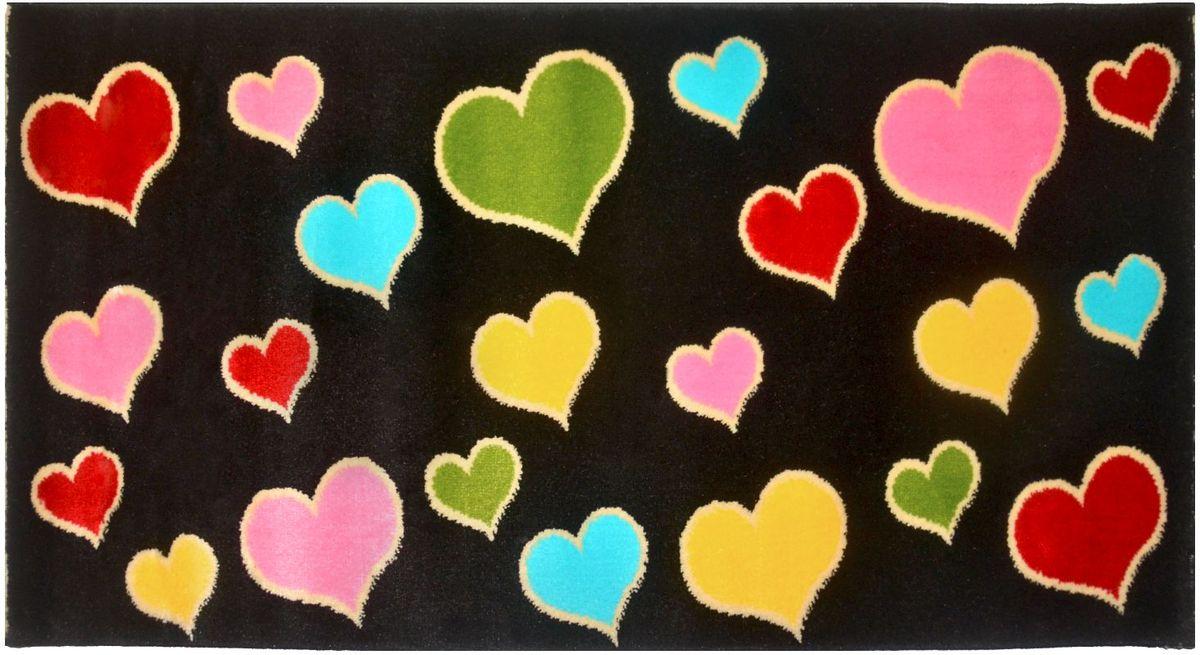 Ковер детский Kamalak Tekstil, 100 х 150 см. УКД-204635-072Детский ковер Kamalak Tekstil изготовлен из высококачественного полипропилена.Полипропилен износостоек, нетоксичен, не впитывает влагу, не провоцирует аллергию. Структура волокна в полипропиленовых коврах гладкая, поэтому грязь не будет въедаться и скапливаться на ворсе. Практичный и износоустойчивый ворс не истирается и не накапливает статическое электричество. Ковер обладает хорошими показателями теплостойкости и шумоизоляции. Оригинальный рисунок позволит гармонично оформить интерьер детской комнаты. За счет невысокого ворса ковер легко чистить. При надлежащем уходе синтетический ковер прослужит долго, не утратив ни яркости узора, ни блеска ворса, ни упругости. Самый простой способ избавить изделие от грязи - пропылесосить его с обеих сторон (лицевой и изнаночной). Влажная уборка с применением шампуней и моющих средств не противопоказана. Хранить рекомендуется в свернутом рулоном виде.