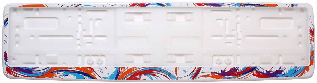 Рамка для номера Концерн Знак Абстрактные кисти, цвет: белыйUdd500leРамка для номера. Предназначена для крепления государственного регистрационного знака. Материал основания - полипропилен, материал лицевой панели ABS-пластик.
