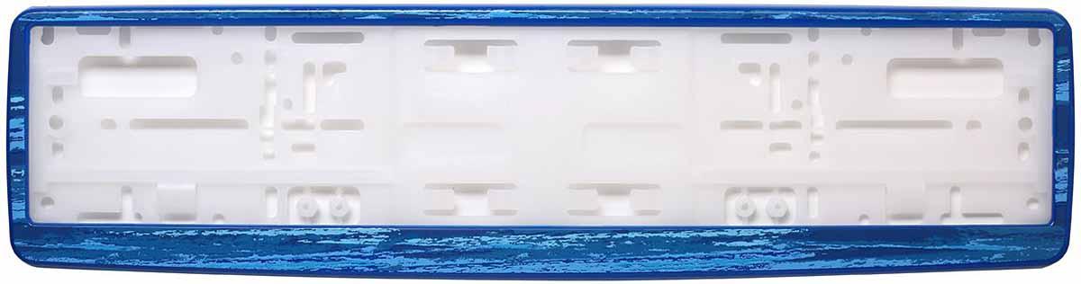 Рамка для номера Концерн Знак Морской бриз, цвет: синийЗ0000016243Рамка для номера Концерн Знак предназначена для крепления государственного регистрационного знака. Материал основания выполнен изполипропилена, материал лицевой панели из ABS-пластика.