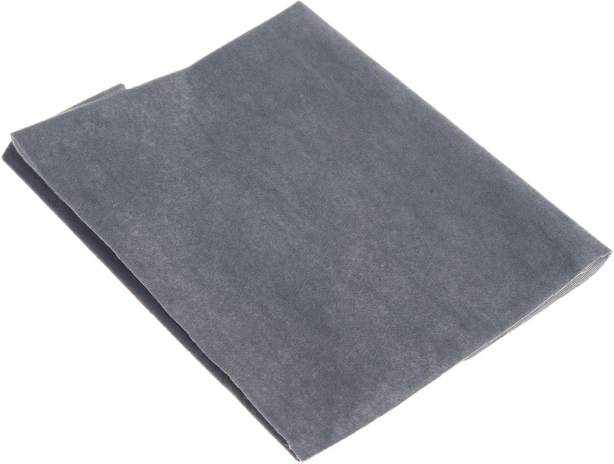 Плюш Бэстекс, цвет: светло-серый, 50 х 50 см7701646_18 черныйМягкий плюш на трикотажной основе Бэстекс, изготовленный из 100% полиэстера, широко применяется в рукоделии. Его используют для оформления внутренних поверхностей шкатулок, изготовления кукольной обуви и одежды, при шитье мягких игрушек и изготовлении украшений, сумок. Плюш - это мягкий, пушистый, нежный материал, имеет короткий ворс, по внешнему виду напоминает искусственный мех. Плюш удобен в работе, имеет хорошие теплоизоляционные свойства, долго не теряет форму и цвет.