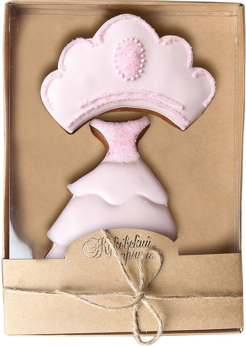 Жуковский пряник Подарочный набор Принцесса 30120710Медово-имбирный пряник с росписью из айсинга, фотопечатью на сахарной бумаге. Отличный подарок для любимых. Без ГМО.