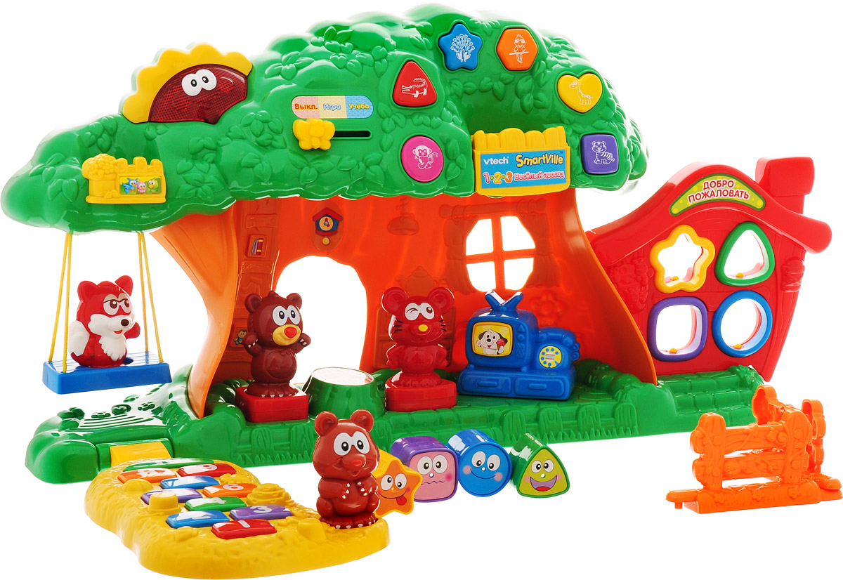 Vtech Развивающая игрушка Веселый зоосад