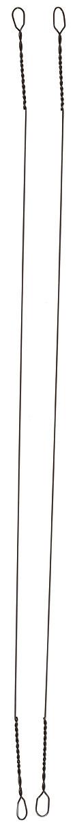 Поводок рыболовный Yoshi Onyx Wire Leader Titanium String, 0,35 мм, 15 см, 2 штГризлиТитановые поводки Yoshi Onyx надежны, быстро монтируются и могут достойно противостоять щучьим атакам, не давая хищнику срезать приманку. Такие поводки отлично сработают и при проведении объемных приманок через заросли и кувшинки, при анимации крупных джерков или мягкой резины. С одинаковой вероятностью на приманку, оснащенную тонким струнным поводком, может пойматься и щука, и голавль, и жерех с язем. Отсутствие слабых звеньев исключает возможность схода хищника. Большинство рыболовов применяет поводок-струну и вовсе без дополнительной оснастки. Крепления при таком способе производятся методом скрутки. Для монтажа приманки просто нужно раскрутить косичку. Следует с вниманием отнестись при подобном креплении поводка к плетеному шнуру - если диаметр струны будет меньше диаметра шнура, то велика вероятность, что поводок будет резать плетенку. Титановые поводки применяются в ловле от ультралайтового класса до джерка или нахлыста. Благодаря тому, что титан имеет вдвое меньший вес по сравнению со сталью, это способствует уменьшению влияния поводка на плавучесть даже миниатюрных приманок. Поводки этого типа можно отнести к сверхживучим. При применении титановых поводков полностью исключается вероятность негативного влияния коррозионного воздействия, так что даже если вы сложили свои поводки, не высушив их предварительно, нет причин для беспокойства - поводки из титана не заржавеют.