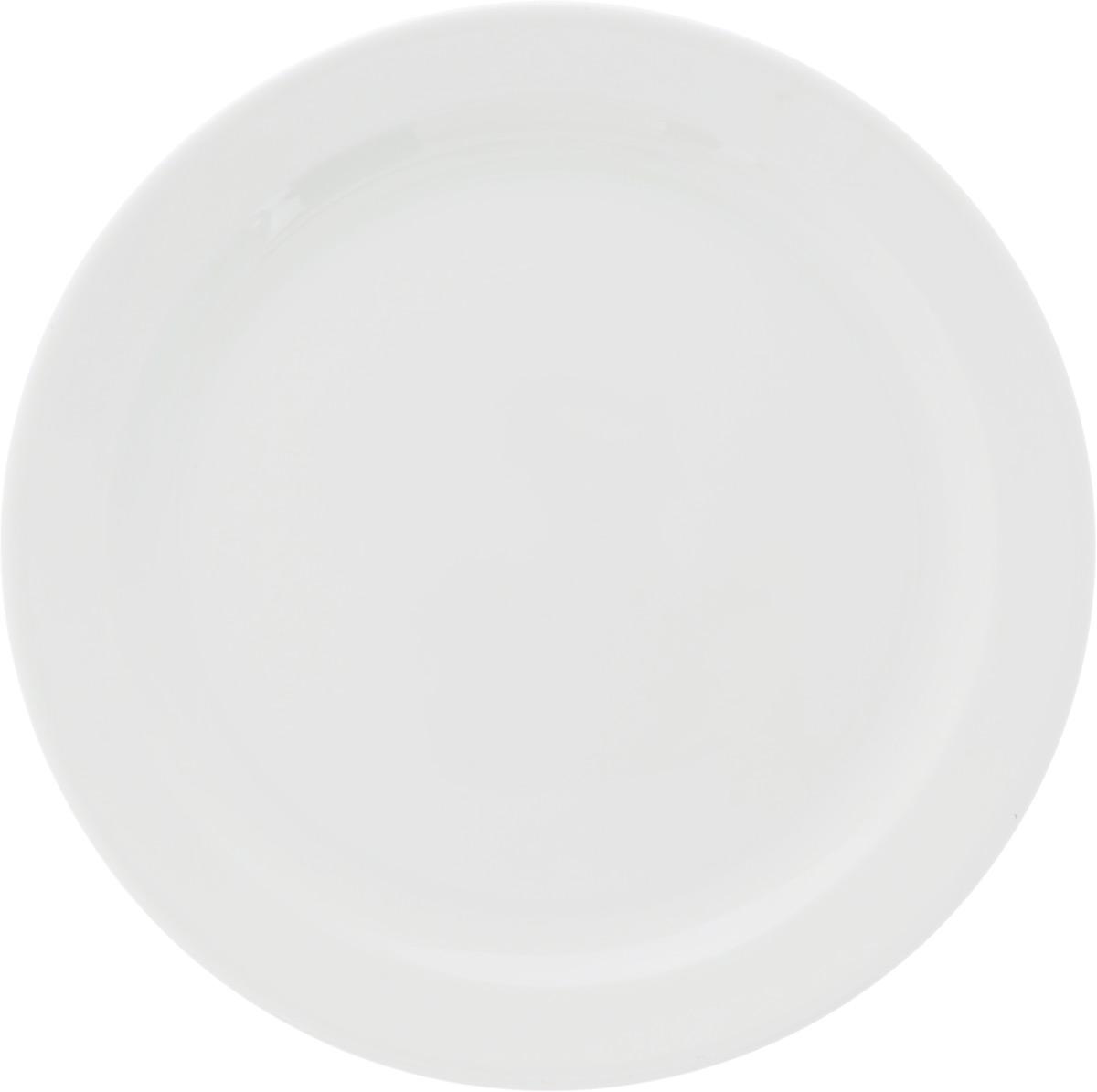 Тарелка мелкая Ariane Прайм, диаметр 24 см115510Мелкая тарелка Ariane Прайм, изготовленная из высококачественного фарфора, имеет изысканный внешний вид. Такая тарелка прекрасно подходит как для торжественных случаев, так и для повседневного использования. Идеальна для подачи десертов, пирожных, тортов и многого другого. Она прекрасно оформит стол и станет отличным дополнением к вашей коллекции кухонной посуды.Можно использовать в посудомоечной машине и СВЧ.Диаметр тарелки: 24 см.Высота тарелки: 2 см.