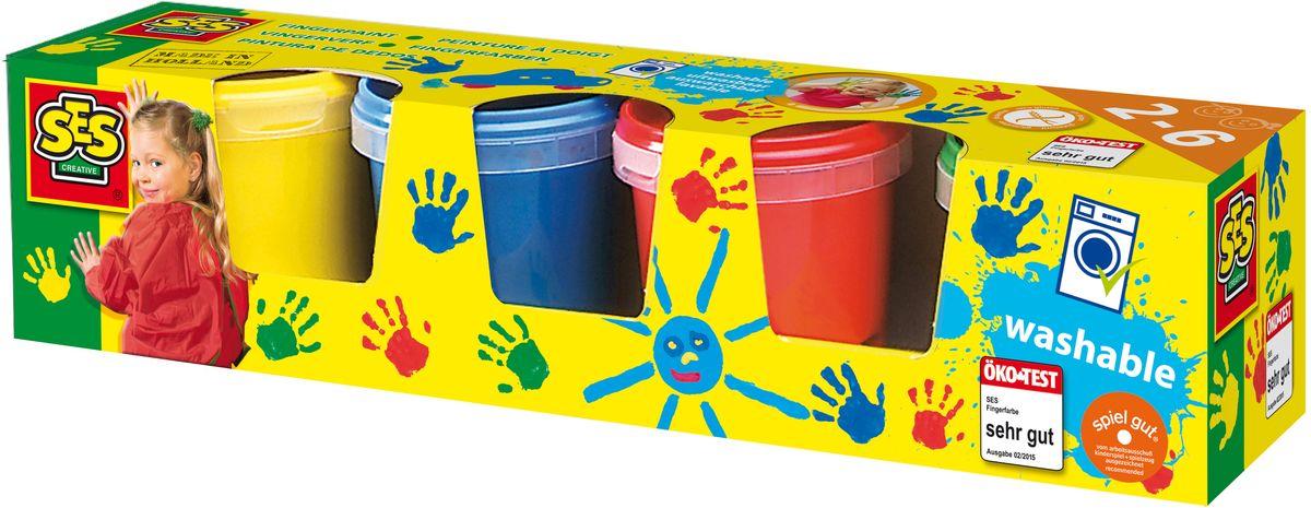 SES-Creative Гуашь для рисования руками 4 цвета501029Гуашь SES-Creative превосходно подходит для рисования пальчиками, она не течет и не капает.При изготовлении красок используются только натуральные компоненты и пищевые красители. Гуашь не токсична, легко отстирывается с большинства тканей и хорошо смывается с рук. Краски содержат безвредное невкусное вещество, чтобы дети их не ели (рекомендуется использовать под присмотром взрослых).Рисование пальцами дает наиболее сильное восприятие цвета, данный процесс рисования обостряет ощущения и позитивно влияет на настроение детей. Работая с красками, ребенок формирует художественный вкус, учится наблюдать и сравнивать, различать не только цвета, но и тона.Для детей от 3 лет.