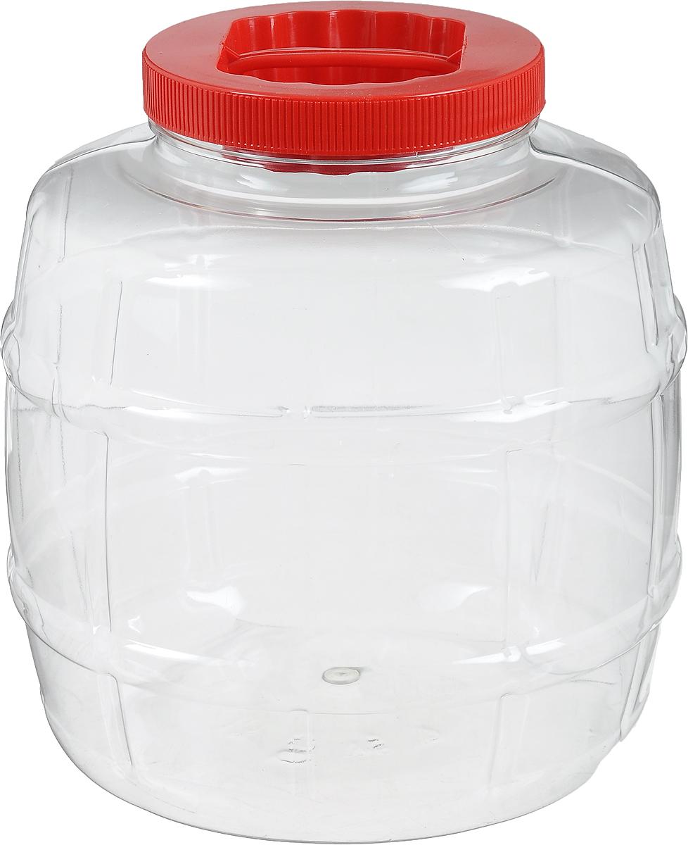 Емкость Альтернатива Бочонок, 5 лL2520328Емкость Альтернатива Бочонок изготовлена из ПЭТ (полиэтилентерефталат) и оснащена пластиковой закручивающейся крышкой. Изделие выполнено в форме бочонка с прозрачными стенками, что позволяет видеть содержимое. В такой удобной емкости можно хранить макароны, крупы, сахар, соль и многое другое. Высота емкости: 21 см. Диаметр по верхнему краю: 10,5 см. Диаметр дна: 17 см.