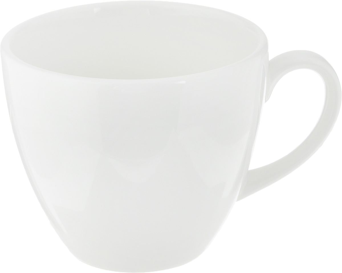 Чашка чайная Ariane Прайм, 200 мл115510Чашка Ariane Прайм выполнена из высококачественного фарфора с глазурованным покрытием. Изделие оснащено удобной ручкой. Нежнейший дизайн и белоснежность изделия дарят ощущение легкости и безмятежности.Изысканная чашка прекрасно оформит стол к чаепитию и станет его неизменным атрибутом.Можно мыть в посудомоечной машине и использовать в СВЧ.Диаметр чашки (по верхнему краю): 8,2 см.Высота чашки: 7 см.