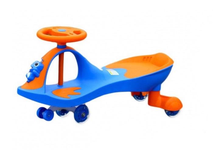 Bradex Машинка детская Бибикар-Лягушонок с полиуретановыми колесами цвет синий -  Каталки, понициклы