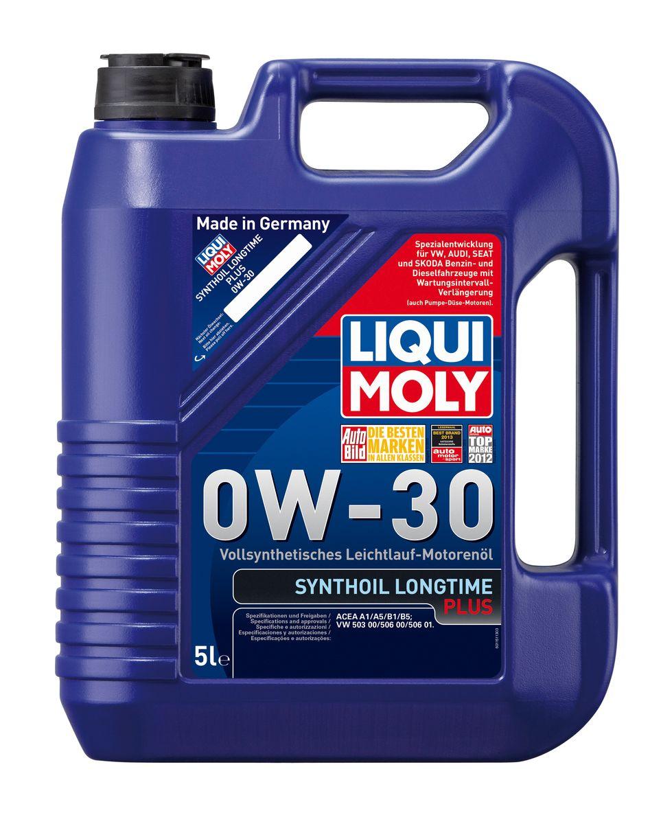Масло моторное Liqui Moly Synthoil Longtime Plus, синтетическое, 0W-30, 5 л80621Масло моторное Liqui Moly Synthoil Longtime Plus - специальный продукт для автомобилей VW с двигателями R5 TDI и V10 TDI выпуска до 06.2006 (для других двигателей - Top Tec 4200). 100% ПАО-синтетическое всесезонное масло, специально разработанное под особые требования Volkswagen Group. Подходит для использования в бензиновых и дизельных автомобилях с турбонаддувом и без него. Значительно снижает расход топлива и одновременно повышает ресурс двигателя. Комбинация синтетической базы и передовых технологий в области разработок присадок гарантирует низкую вязкость масла при низких температурах, высокую надежность масляной пленки. Масло предотвращает образование отложений в двигателе, снижает трение и защищает от износа. Особенности: - Очень высокие показатели по экономии топлива- Быстрое поступление масла к деталям двигателя при низких температурах- Отличная чистота двигателя- Очень высокая защита от износа и надежность смазывания- Снижает потери на трение в двигателе- Очень низкие потери масла на испарение- Оптимизировано для турбодизельных двигателей VW R5 TDI и V10 TDI выпуска до 06.2006Допуск: -ACEA: A1/B1/A5/B5Соответствие: -VW: 503 00/506 00/506 01