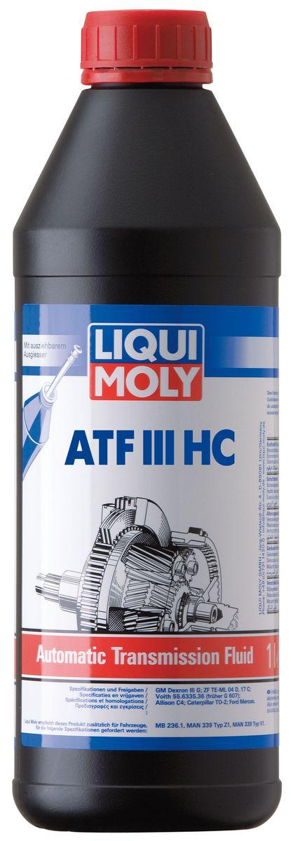 Масло трансмиссионное Liqui Moly ATF III HC, HC-синтетическое, 1 лS03301004Масло трансмиссионное Liqui Moly ATF III HC отвечает требованиям японских и корейских производителей автоматических трансмиссий. HC-синтетическая универсальная жидкость для автоматических трансмиссий легковых автомобилей создана по специальной рецептуре, позволяющей соответствовать требованиям большинства азиатских производителей агрегатов и транспортных средств, в том числе в тяжелых условиях эксплуатации и перепадах температур. В жидкости ATF III HC используются высококачественные HC-синтетические базовые компоненты, отличающиеся хорошими низкотемпературными свойствами. Жидкость содержит специальный пакет присадок, обеспечивающий отличную совместимость с материалами фрикционов и гарантирующий четкое переключение передач. Особенности: - Обладает высокой термической стабильностью в широком диапазоне рабочих температур- Гарантирует отличные противоизносные свойства и оптимальные фрикционные характеристикиСоответствие: -JASO: M315-1A-ISUZU BESCO: ATF-II/ATF-III-GM: Daewoo-Daihatsu: Alumix ATF Multi-Hyundai: SP II/SP III-Kia: SP-II/SP-III-Mazda: ATF M III/ATF D-III-Mitsubishi: SP-III/SP-II-Nissan: AT-Matic D Fluid/AT-Matic J Fluid/AT-Matic C Fluid-Suzuki: ATF Oil/ATF Oil Special-Toyota: Type T-II/Type T-III/Type T-IV/Type T/Type D-2-Subaru: ATF