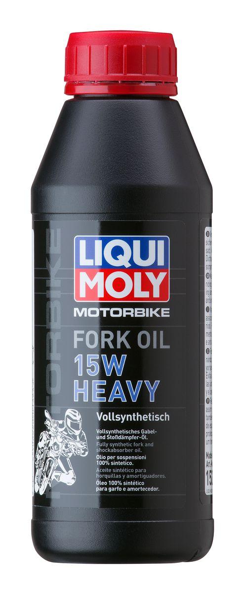 Масло для вилок и амортизаторов Liqui Moly Motorbike Fork Oil Heavy, синтетическое, 15W, 500 мл102051Масло для вилок и амортизаторов Liqui Moly Motorbike Fork Oil Heavy - 100% ПАО-синтетическое масло для использования в качестве демпфирующей жидкости в гидравлических амортизаторах большинства классических мотоциклов и другой мототехники. Оптимально для использования в короткоходных подвесках классиков, чопперов и спортбайков, согласно рекомендациям производителей. Препятствует вспениванию, облегчает ход вилки, снижает износ. Обеспечивает плавный ход и отличную амортизацию. Повышает безопасность езды. Возможно использование в изношенных амортизаторах для повышения их жесткости.