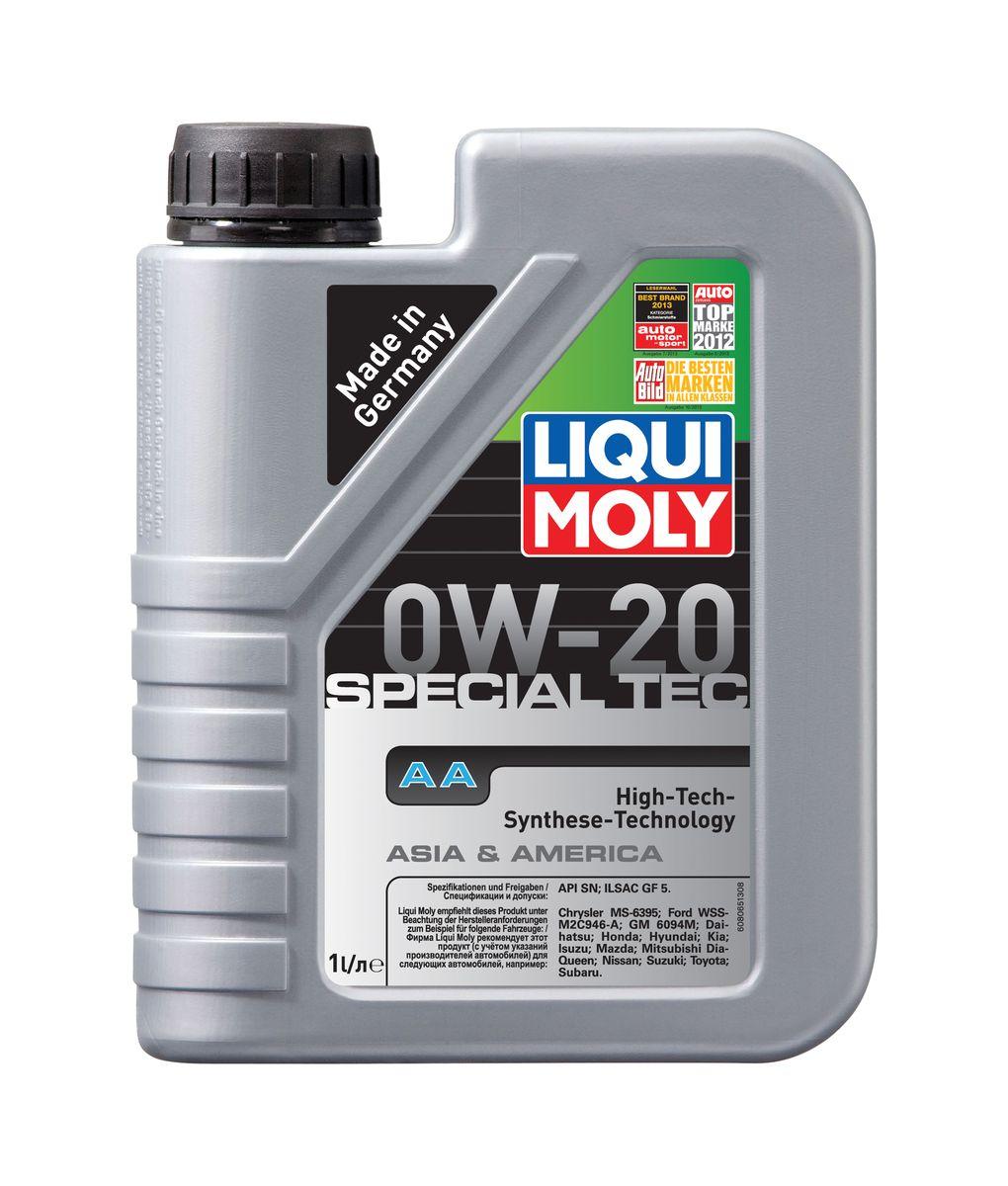Масло моторное Liqui Moly Special Tec AA, НС-синтетическое, 0W-20, 1 лкн12-60авцМасло моторное Liqui Moly Special Tec AA рекомендуется для автомобилей Honda, Mazda, Mitsubishi, Nissan, Daihatsu, Hyundai, Kia, Isuzu, Suzuki, Toyota, Subaru, Ford, Chrysler, GM. Современное HC-синтетическое энергосберегающее моторное масло специально предназначено для всесезонного использования в двигателях американских и азиатских автомобилей. Благодаря отличным низкотемпературным свойствам в соответствии с классом вязкости 0W-20 данное масло отлично подходит для новейших двигателей Honda и гибридных автомобилей концерна Toyota, произведенных для японского и американского рынков. Базовые масла, полученные по технологии синтеза, и новейшие присадки составляют рецептуру моторного масла с отменной защитой от износа, снижающего расход топлива и масла, обеспечивающего чистоту двигателя и максимально быстрое поступление к трущимся деталям. Особенности: - Отличные пусковые свойства в мороз- Быстрое поступление масла ко всем деталям двигателя при низких температурах- Высочайшие показатели топливной экономии- Сокращает эмиссию выхлопных газов- Отличная чистота двигателя- Совместимо с новейшими системами нейтрализации отработавших газов бензиновых двигателейДопуск: -API: SN-ILSAC: GF-5Соответствие: -Chrysler: MS-6395-Ford: WSS-M2C946-A-GM: 6094 M-Daihatsu: Daihatsu-Honda: Honda-Hyundai: Hyundai-Kia: Kia-Isuzu: Isuzu-Mazda: Mazda-Mitsubishi: Mitsubishi-Nissan: Nissan-Suzuki: Suzuki-Toyota: Toyota-Subaru: Subaru