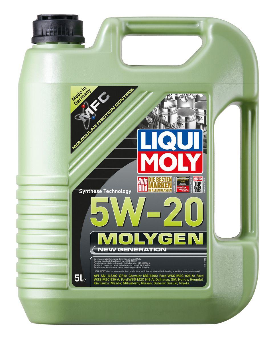 Масло моторное Liqui Moly Molygen New Generation, НС-синтетическое, 5W-20, 5 лS03301004Масло моторное Liqui Moly Molygen New Generation - это маловязкое моторное масло на базе HC-синтетической технологии с фирменным антифрикционным пакетом присадок Molygen, созданным на основе новейшей технологии Molecular Friction Control. Для самых современных автомобилей американского и азиатского рынка, в частности Honda, Toyota, Ford, Chrisler. Экономит до 7% топлива и существенно продлевает ресурс двигателя. Моторное масло удовлетворяет самым современным спецификациям API SN и ILSAC GF-5 и имеет энергосберегающий класс вязкости 5W-20. Особенности: - Наивысшая защита от износа- Высочайшие показатели топливной экономии- Быстрое поступление масла ко всем деталям двигателя при низких температурах- Сокращает эмиссию выхлопных газов- Отличная чистота двигателя- Совместимо с современными системами нейтрализации отработавших газов бензиновых двигателей- Очень низкий расход масла- Цветовой индикатор утечек, видимый в УФ-лучахМоторное масло Molygen NG 5W-20 благодаря новейшей формуле MFC позволяет существенно увеличить ресурс двигателя и сэкономить за счет снижения расхода топлива. Помогает локализовать утечки.Соответствия и допуски:- API: SN- ILSAC: GF-5- Chrysler: MS-6395- Ford: WSS-M2C945-A/WSS-M2C930-A- GM: GM- Honda: Honda- Hyundai: Hyundai- Kia: Kia- Isuzu: Isuzu- Mazda: Mazda- Mitsubishi: Mitsubishi- Nissan: Nissan- Suzuki: Suzuki- Toyota: Toyota- Subaru: Subaru