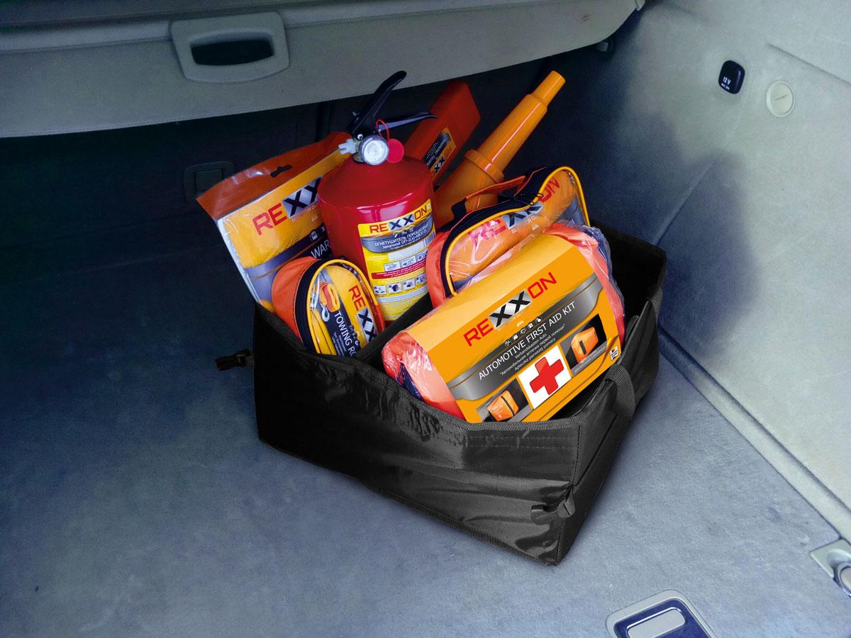 Органайзер складной в багажник Rexxon 40 х 30 х 25 смВетерок 2ГФПредназначен для удобства перевозки и хранения вещей. Состав: нейлон