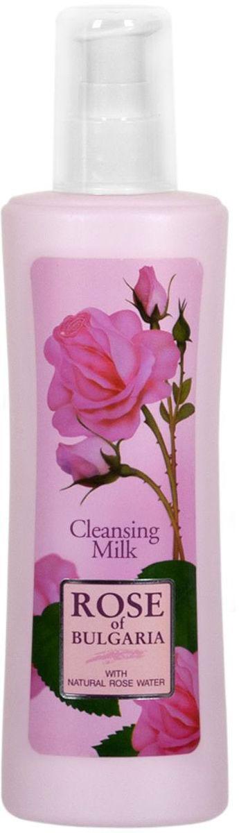 Rose of Bulgaria Молочко очищающее, 230 мл (помпа-дозатор)AC-2233_серыйМолочко мягко очищает и питает кожу лица и шеи. Содержит натуральную розовую воду, имеющую антибактериальнные и успокаивающие свойства. Улучшает гидратацию, возвращает чистоту и эластичность. Подходит для любого типа кожи.Нежное и мягкое молочко создано для ежедневного очищения лица, шеи и области декольте, а также оно используется перед массажем или косметической процедурой. Натуральная розовая вода с большим содержанием эфирного розового масла является основным компонентом данной эмульсии. Очищающее молочко подходит для всех возрастов и типов кожи, особенно рекомендуется для чувствительной. Молочко освежает и тонизирует Вашу кожу, тщательно удаляя косметику, жир и любые загрязнения. Оказывает успокаивающее воздействие, поддерживает необходимый баланс увлажненности, обладает лёгким противовоспалительным действием, сохраняет эластичность и мягкость кожи. Обладает гармоничным ароматом.