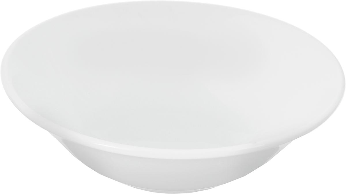 Салатник Ariane Прайм, 330 мл54 009312Салатник Ariane Прайм, изготовленный из высококачественного фарфора с глазурованным покрытием, прекрасно подойдет для подачи различных блюд: закусок, салатов или фруктов. Такой салатник украсит ваш праздничный или обеденный стол.Можно мыть в посудомоечной машине и использовать в микроволновой печи.Диаметр салатника (по верхнему краю): 16,5 см.Диаметр основания: 7 см.Высота стенки: 5 см.Объем салатника: 330 мл.