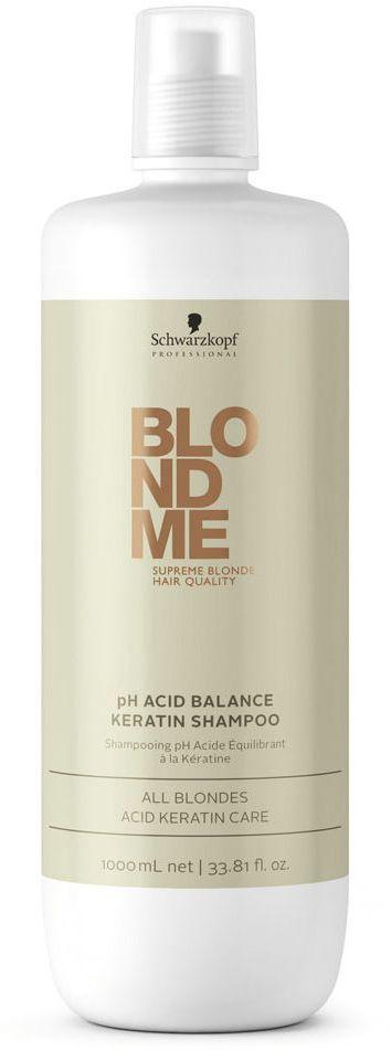 Blondme Шампунь с кислым PH Blondme Shampoo All Blondes 1000 млFS-00897БлондМи Шампунь с кислым PH. Помогает нейтрализовать уровень РН после процесса осветления волос. Шампунь приводит к природному балансу структуру волос и усиливает чистоту оттенков блонд за счет яркого. трехмерного блеска. Рекомендуется использовать в комплексе с маской BM Blonde All Blondes