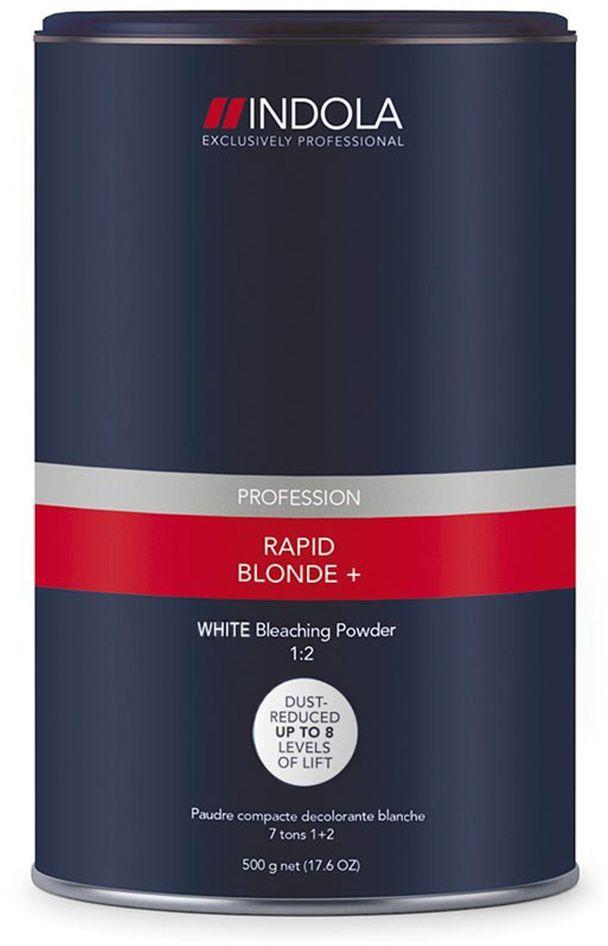 Indola RapidBlond WHITE Порошок обесцвечивающий белый 450 гSatin Hair 7 BR730MNПорошок обесцвечивающий белый. Для достижения максимально светлого оттенка блонд на темной базе или на окрашенных волосах. Осветляет до 8 уровней, благодаря уникальной комбинации активных элементов. Высокая нейтрализация остаточной желтизны за счет антижелтых пигментов