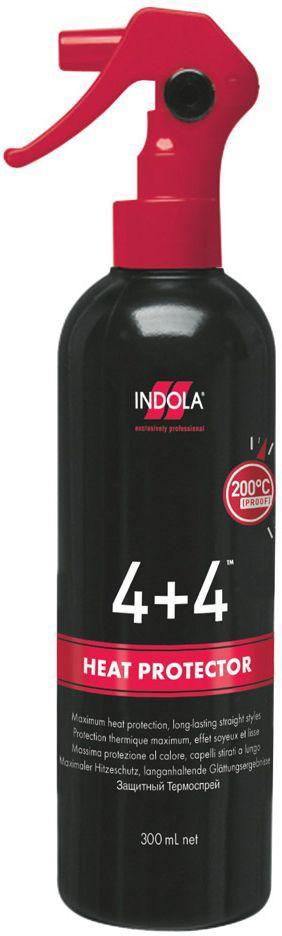 Indola Защитный термо-спрей 4+4 300 мл спреи indola солевой спрей indola 200 мл