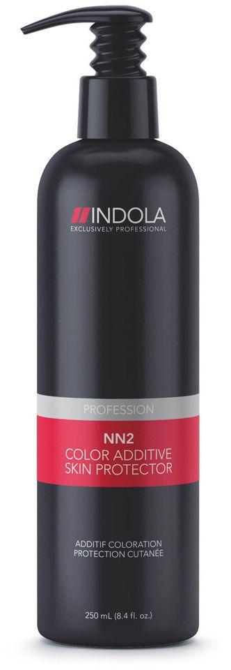 Indola Лосьон для защиты кожи NN2 250 млMP59.4DУникальная формула создает на поверхности кожи головы барьерный слой, оберегая от воздействия красителя и уменьшая раздражение. Алоэ и бисаболол успокаивающе действуют на кожу головы. Продукт можно использовать как вместе с красителем так и отдельно. Удобный помповый дозатор