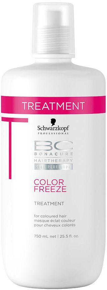 Bonacure Сияние Цвета Маска Color Freeze750 мл2066333Интенсивная восстанавливающая маска для окрашенных волос. Защищает и укрепляет окрашенные волосы, удерживает оптимальный уровень pH 4.5, сжимает кутикулярный слой и предотвращает потерю цвета. Обеспечивает глубокий уход, устраняет пушистость и разглаживает поверхность волос, усиливает бриллиантовое сияние. Рекомендуется использовать в комплексе с шампунем BC Color Freeze