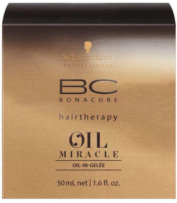 Bonacure Oil Miracle Масляное Желе 50 млMP59.4DМасло-желе для дисциплины волос. Содержит богатую комбинацию масел, которые позволяют добиться контроля электризации, облегчить расчесывание и разгладить непослушные волосы. Предлагает все преимущества масел Арганы, Марулы, Берберийской фиги и Розы, дополненных гидролизованным кератином и катионоактивными компонентами