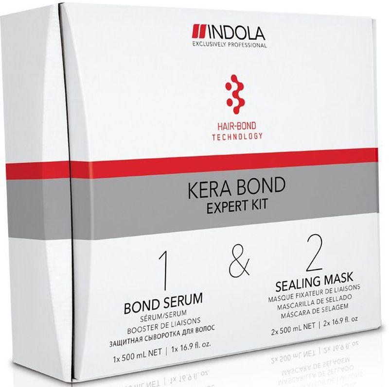 Indola Kera Bond Экспертный Набор 500/500/500 млMP59.4DВ набор входит: Шаг 1 Bond Serum 500 мл - 1 шт.; Шаг 2 Sealing Mask 500 мл - 2 шт. Двух ступенчатая технология Kera Bond - это инновационная технология Hair Bond Technology, современный ассортимент продуктов против ломкости волос, предотвращающий повреждение волос во время химических процедур и значительно улучшающий качество волос, даже ранее окрашенных.