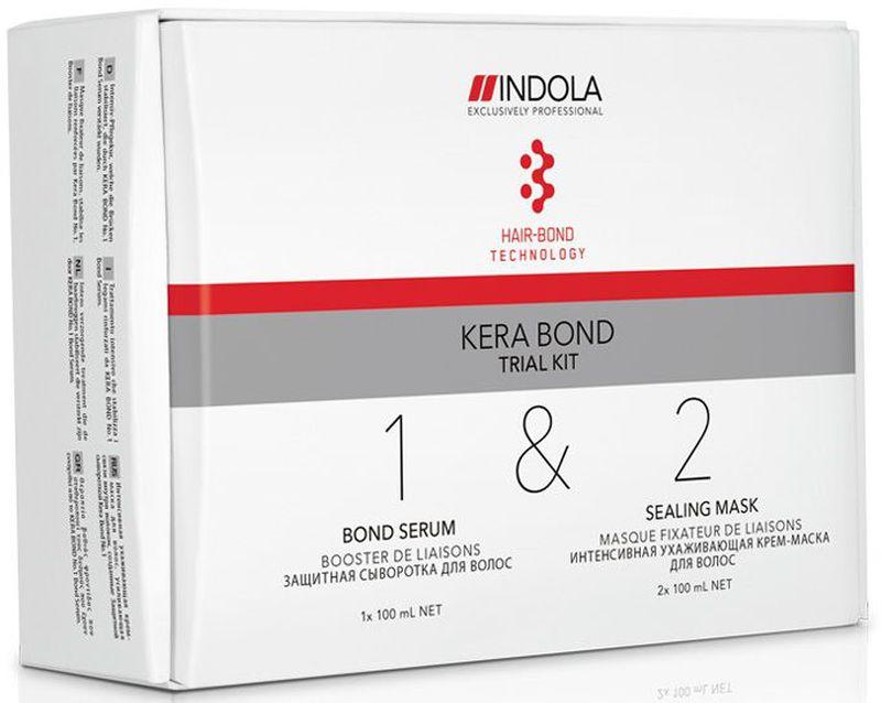 Indola Стартовый Набор Kera Bond 100/100/100 млMP59.4DВ набор входит: Шаг 1 Bond Serum 100 мл - 1 шт.; Шаг 2 Sealing Mask 100 мл - 2 шт. Двух ступенчатая технология Kera Bond - это инновационная технология Hair Bond Technology, современный ассортимент продуктов против ломкости волос, предотвращающий повреждение волос во время химических процедур и значительно улучшающий качество волос, даже ранее окрашенных.