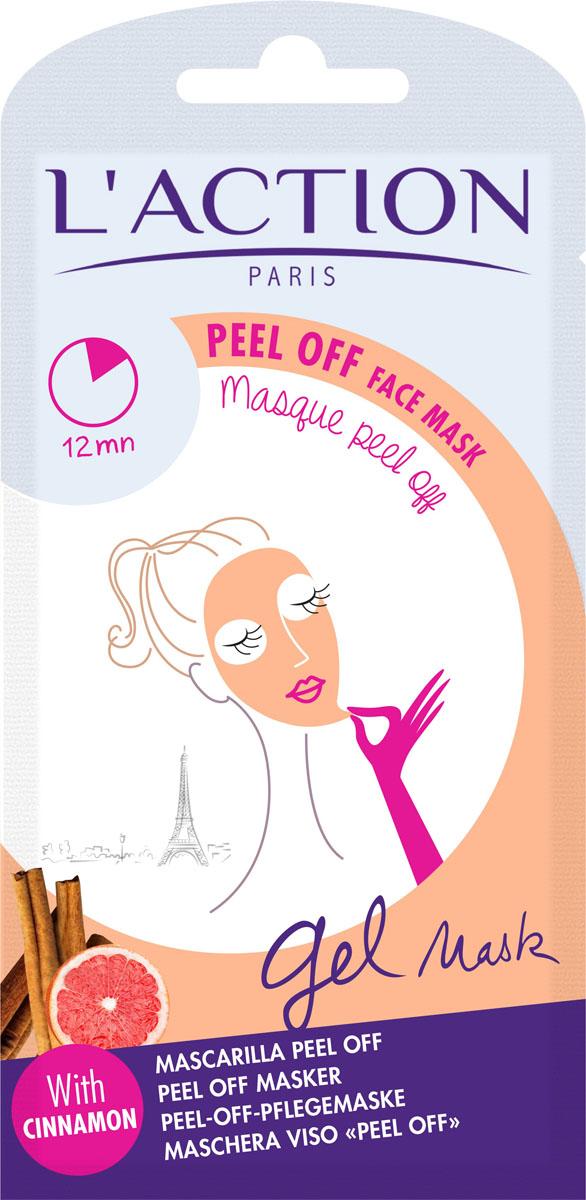 Laction Маска для лица отшелушивающая Peel Off face mask, 10 г86415065Маска обладает очищающим и стягивающим поры действием. Формула обогащена цинамоном (пряная корица с острова Цейлон), который способствует обновлению клеток кожи. Маска делает кожу мягкой, гладкой и обновленной.