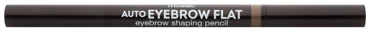 Eva Mosaic Карандаш для бровей Auto Eyebrow Flat, 0,25 г, 02SC-FM20104Карандаш от брендаEva Mosaicпоможет любой женщине создать идеальную форму бровей. Он обладает удобной треугольной формой грифеля. С помощью острого кончика вы создадите четкими графичные линии, аплоский - сделает более мягкие и плавныештрихи. Благодаря щеточке на другом конце карандаша, вы сможете уложить брови или растушевать цвет. Грифель очень прочный, но при этом мягкий, не ломается и не крошится. Карандаш содержит витамины С и Е, сок листьев алоэ, масло жожоба и семян подсолнечника.