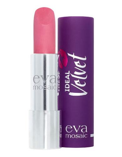 Eva Mosaic Губная помада Ideal Velvet матовая, 4,3 г, 02A8635300Матовая с высоким содержанием пигмента формула помады подарит вашим губам интенсивный цвет. Превосходно наносится, оставляя тонкое равномерное устойчивое покрытие. Входящие в состав витамины E и F смягчают и увлажняют нежную кожу губ в течение всего дня. Не содержит силикона. Помаду можно наносить самостоятельно или в сочетании с контурным карандашом. Для наилучшего результата рекомендуется наносить на предварительно увлажненную кожу губ.