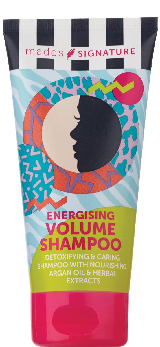 Mades cosmetics Шампунь для волос энергетический для придания объема, 150 млFS-00897Обогащен питающим аргановым маслом и растительными экстрактами. Создает объем от корней волос.