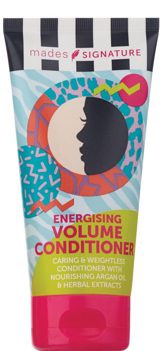 Mades cosmetics Кондиционер для волос энергетический для придания объема, 150 млFS-36054Содержит питающее аргановое масло, облегчает расчесываниеволос, создаетобъем. Средство предназначено для ухода за всеми типами волос.
