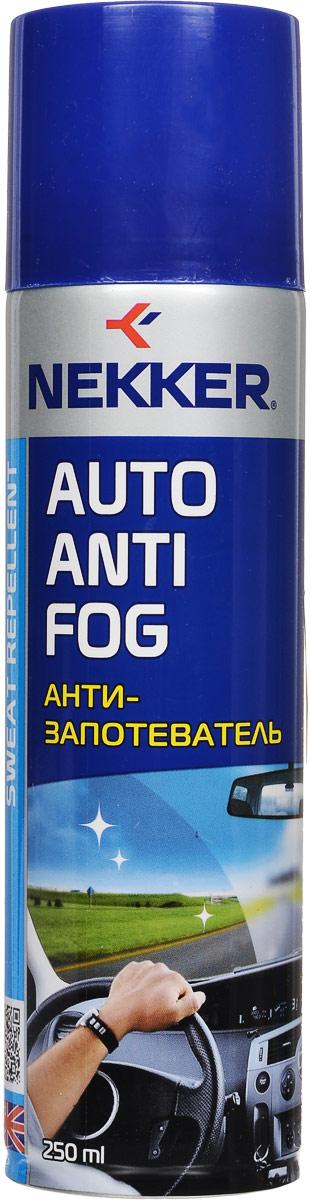 Антизапотеватель Nekker, 250 мл средство для предотвращения запотевания стекол и зеркал grass antifog 250 мл
