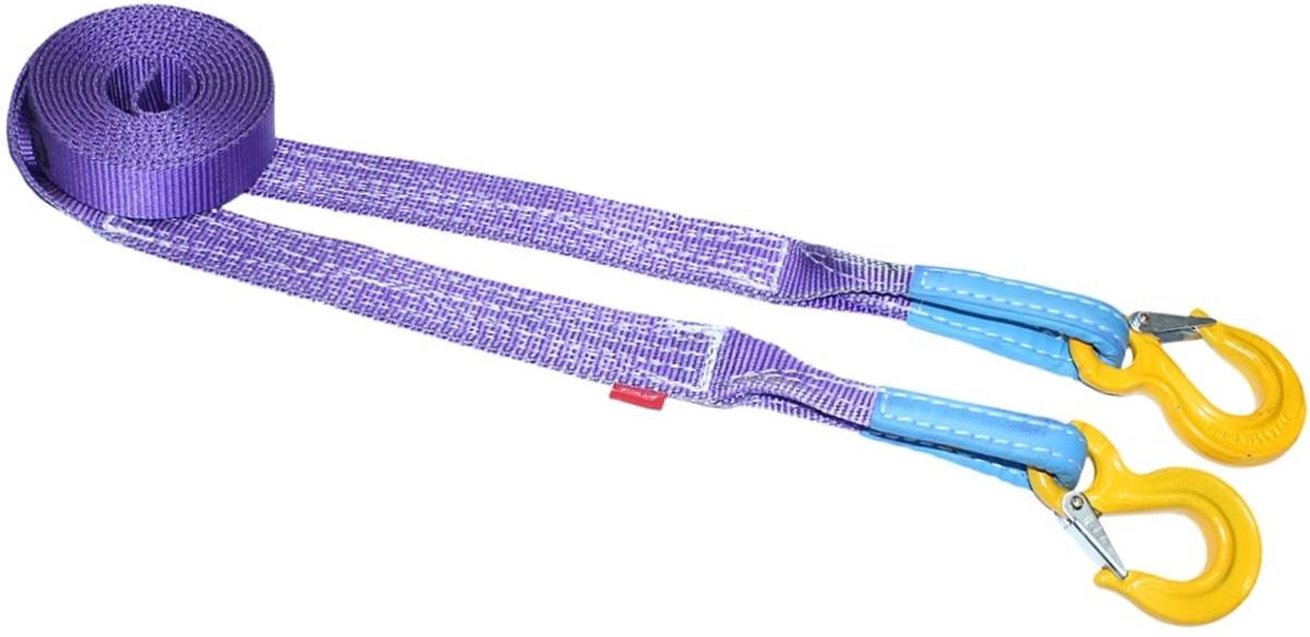 Строп динамический Tplus PRO Secura, рывковый, крюк/крюк, 6 т, 5 мPANTERA SPX-2RSМинимальная разрывная нагрузка (MBS): 6 т;Безопасная рабочая нагрузка (SWL): 2 т;Длина: 5 м;Ширина ленты: 40 мм;Материал: 100% нейлон;Защита петель: экокожа;Эластичность (удлинение при нагрузке): 25%;Исполнение: крюк/крюк;Крюк с усиленной защелкой (SF8): 2/16 т (безопасная рабочая нагрузка SWL/минимальная разрывная нагрузка MBS);Для а/м с максимальной массой до 2 т;Гарантия: 2 года.