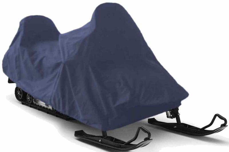 Чехол для снегохода Tplus, универсальный, цвет: синий. Размер L (260-300 х 120 х 140 см)T001909Универсальный чехол Tplus, изготовленный из ткани оксфорд плотностью 210 г/м2, защитит снегоход от снега и льда. Резинка по краю изделия позволяет плотно зафиксировать чехол на транспортном средстве. Чехол обладает водоотталкивающими свойствами, повышенной прочностью и износоустойчивостью. Мешок для транспортировки и хранения входит в комплект.