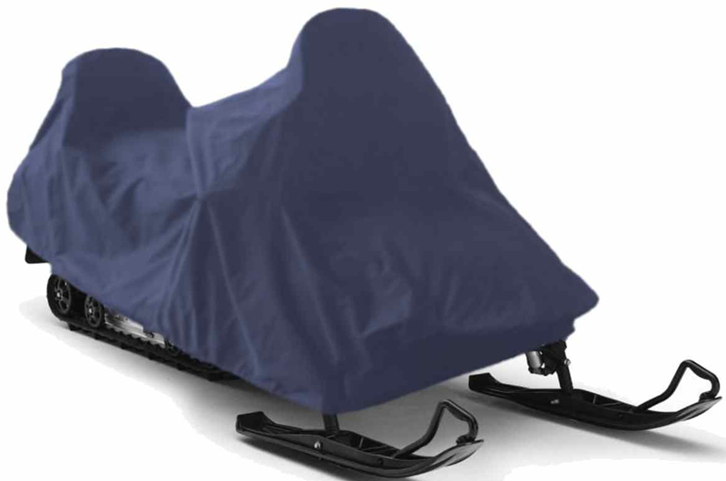 Чехол для снегохода Tplus, универсальный, цвет: синий. Размер M (250 х 110 х 120 см)T002049Универсальный чехол Tplus, изготовленный из ткани оксфорд плотностью 210 г/м2, защитит снегоход от снега и льда. Резинка по краю изделия позволяет плотно зафиксировать чехол на транспортном средстве. Чехол обладает водоотталкивающими свойствами, повышенной прочностью и износоустойчивостью. Мешок для транспортировки и хранения входит в комплект.