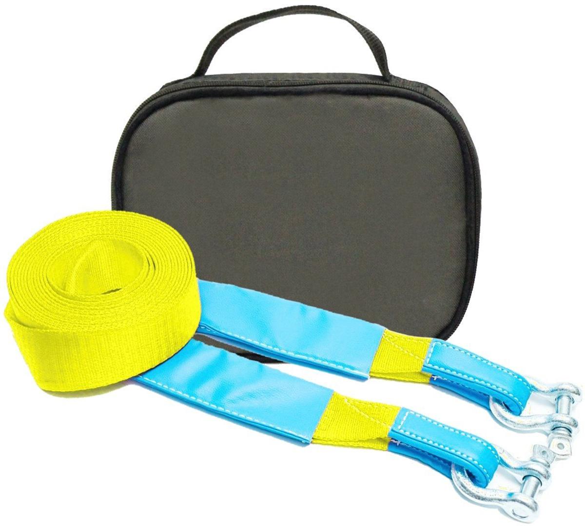 Строп динамический Tplus Стандарт, рывковый, с сумкой, цвет: оливковый, с шаклами, 6 т, 9 мPANTERA SPX-2RSМинимальная разрывная нагрузка (MBS): 6 т;Длина: 9 м;Ширина ленты: 70 мм;Материал ленты: полиамид;Защита петель: экокожа;Защита швов: экокожа;Эластичность (удлинение при нагрузке): 20%;Исполнение: петля/петля;Шакл 3.25/19.5 т: 2 шт. (безопасная рабочая нагрузка (SWL)/минимальная разрывная нагрузка (MBS);Применяется для а/м массой* от 1 до 1.8 т;Сумка (оксфорд);Гарантия: 1 год.*масса а/м = снаряженная масса а/м + 100 кг (+20% при эвакуации а/м из грязи).Если а/м оснащен дополнительным оборудованием (силовой бампер, лебёдка и т. п.), то масса а/м = снаряженная масса а/м + 100 кг + масса дополнительно установленного навесного оборудования (+20% при эвакуации а/м из грязи).