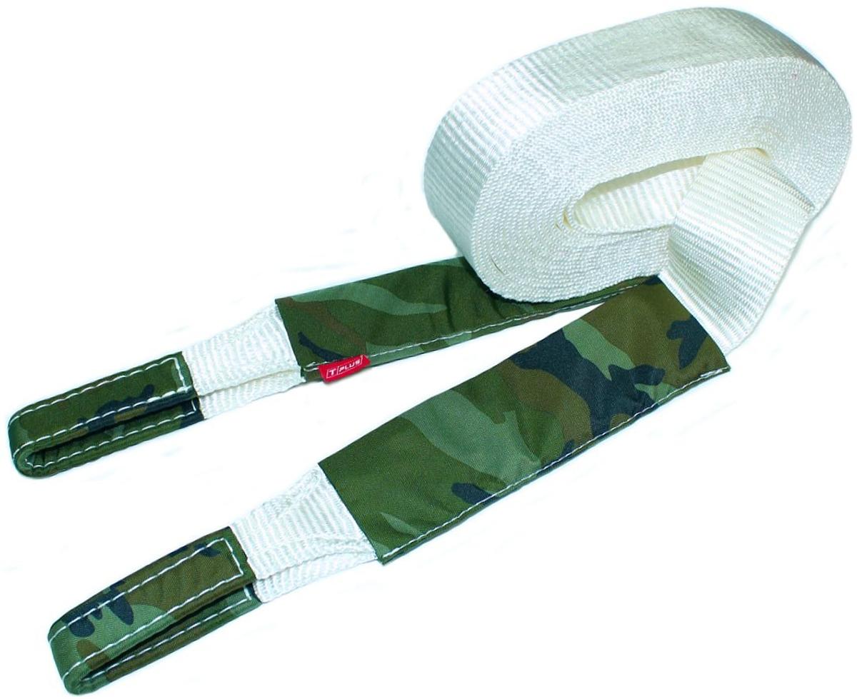 Строп динамический Tplus Туризм, рывковый, 6 т, 6 мPANTERA SPX-2RSМинимальная разрывная нагрузка (MBS): 6 т;Длина: 6 м;Ширина ленты: 65 мм;Материал ленты: полиамид;Защита петель: оксфорд;Защита швов: оксфорд;Эластичность (удлинение при нагрузке): 20%;Исполнение: петля/петля;Применяется для а/м массой* до 1.6 т ;В комплекте непромокаемый мешок для хранения;Гарантия: 1 год.*масса а/м = снаряженная масса а/м + 100 кг (+20% при эвакуации а/м из грязи).Если а/м оснащен дополнительным оборудованием (силовой бампер, лебёдка и т. п.), то масса а/м = снаряженная масса а/м + 100 кг + масса дополнительно установленного навесного оборудования (+20% при эвакуации а/м из грязи).