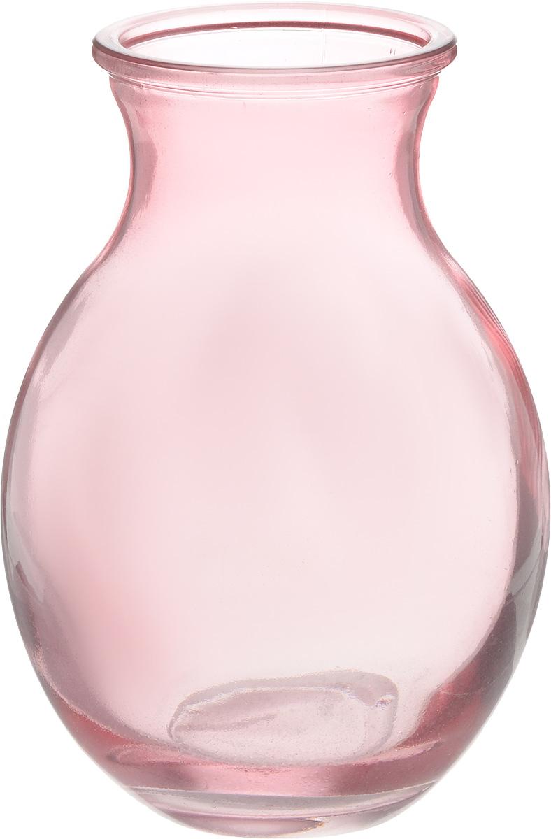 Ваза NiNaGlass Доника, цвет: розовый, высота 19,5 смFS-80423Ваза NiNaGlass Доника выполнена из высококачественного стекла с розоватым оттенком и имеет изысканный внешний вид. Такая ваза станет ярким украшением интерьера и прекрасным подарком к любому случаю.Высота вазы: 19,5 см.Диаметр вазы (по верхнему краю): 9 см.