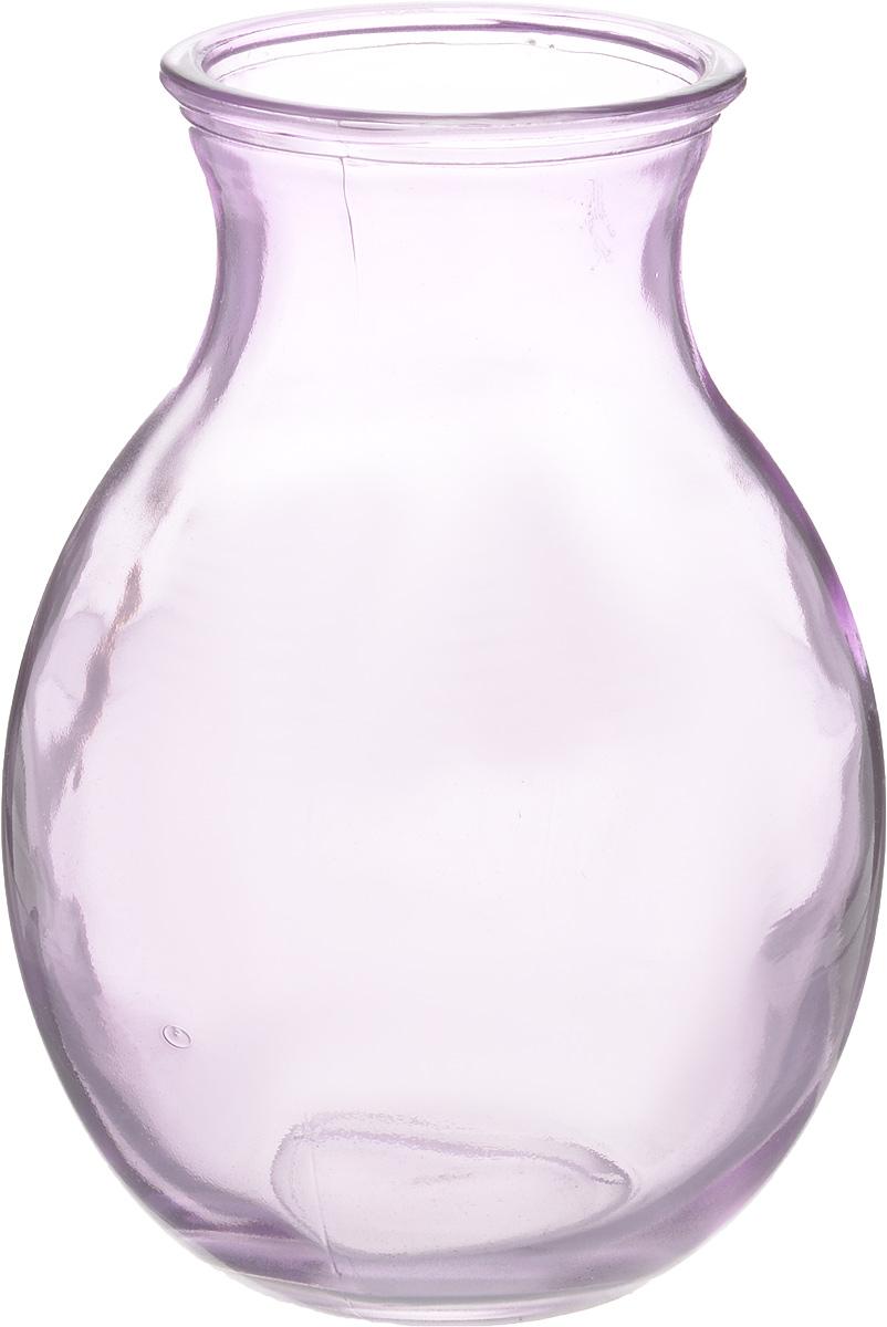 Ваза NiNaGlass Доника, цвет: сиреневый, высота 19,5 смFS-80418Ваза NiNaGlass Доника выполнена из высококачественного стекла с сиреневым оттенком и имеет изысканный внешний вид. Такая ваза станет ярким украшением интерьера и прекрасным подарком к любому случаю.Высота вазы: 19,5 см.Диаметр вазы (по верхнему краю): 9 см.