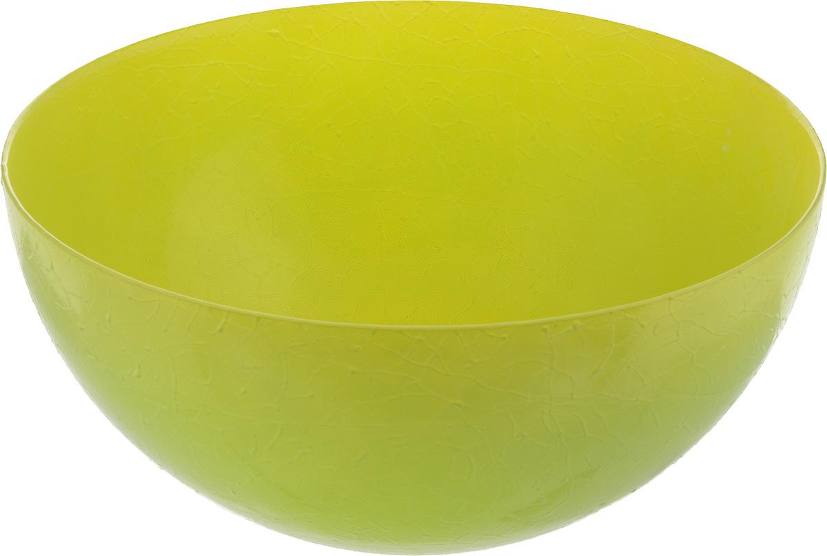 Салатник NiNaGlass Шеф, цвет: желто-зеленый, диаметр 28 см54 009312Салатник NiNaGlass Шеф выполнен из высококачественного стекла. Он прекрасно подойдет для подачи различных блюд: закусок, салатов или фруктов. Изделие отлично впишется в интерьер вашей кухни и станет достойным дополнением к кухонному инвентарю. Не рекомендуется мыть в посудомоечной машине.Диаметр салатника (по верхнему краю): 28 см.Высота салатника: 13 см.