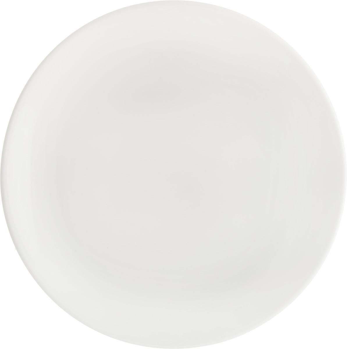 Тарелка Ariane Коуп, диаметр 18 см. AVCARN1101854 009312Тарелка Ariane Коуп, изготовленная из высококачественного фарфора, имеет классическую круглую форму. Такая тарелка отлично подойдет в качестве блюда для закусок и нарезок, а также для подачи различных десертов. Изделие прекрасно впишется в интерьер вашей кухни и станет достойным дополнением к кухонному инвентарю. Тарелка Ariane Коуп подчеркнет прекрасный вкус хозяйки и станет отличным подарком.Можно мыть в посудомоечной машине и использовать в микроволновой печи. Высота: 1,5 см.Диаметр тарелки: 18 см.