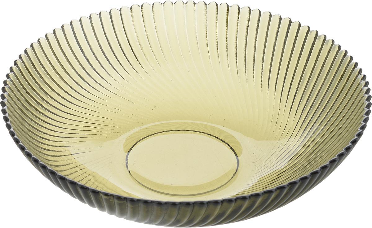 Тарелка NiNaGlass Альтера, цвет: дымчатый, 20 х 20 х 5 смVT-1520(SR)Тарелка NiNaGlass Альтера выполнена из высококачественного стекла и имеет рельефную поверхность. Она прекрасно впишется в интерьер вашей кухни и станет достойным дополнением к кухонному инвентарю.Не рекомендуется использовать в микроволновой печи и мыть в посудомоечной машине.