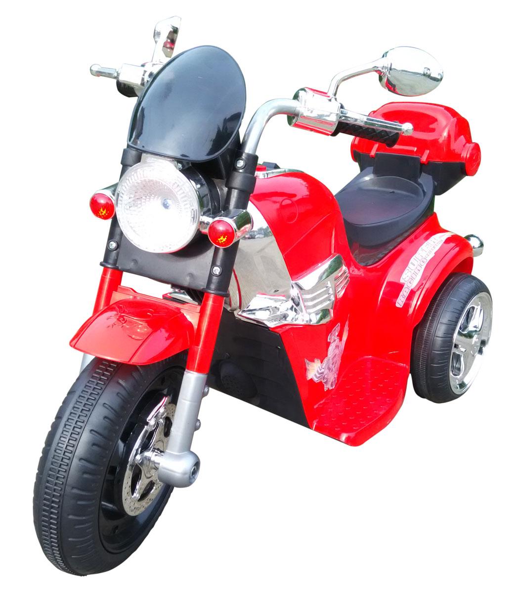 1TOY Мотоцикл аккумуляторный цвет красный черный -  Электромобили