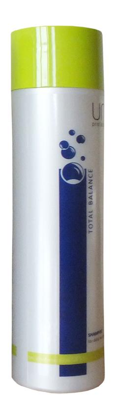 Uni.tec Шампунь для ежедневного ухода Total Balance, 250 мл1800726Шампунь поддерживает силу волос, сохраняя природный уровень увлажнения изнутри, и придает натуральный блеск. Идеально подходит для ежедневного ухода за любым типом волос, а также для мягкого очищения перед окрашиванием или химической обработкой волос. Кондиционирующие компоненты придают волосам блеск и шелковистость, облегчают расчесывание, делают волосы мягкими и эластичными, оказывают антистатическое действие. Применение: нанесите на влажные волосы от корней до кончиков легкими массирующими движениями, оставьте действовать на несколько минут, тщательно смойте теплой водой.