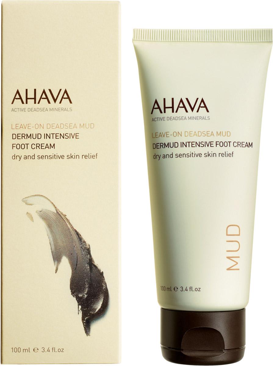 Ahava Deadsea Mud М Активный крем для ног dermud 100 мл ahava mud крем питательный для тела dermud