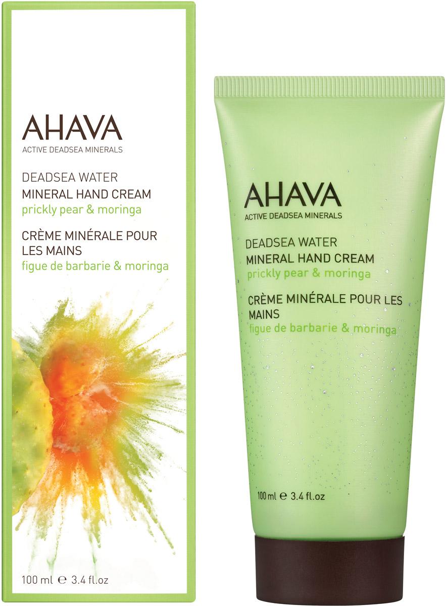 Ahava Deadsea Water М Минеральный крем для рук опунция и моринга 100 мл ahava набор duo deadsea water 1 набор дуэт