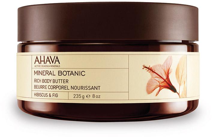 Ahava Mineral Botanic Насыщенное масло для тела гибискус и фига 235гFS-00897Мягкое и ультра питательное крем-масло для тела обеспечивает интенсивное увлажнение в течение всего дня. Масло персика, масло Ши смягчают и питают вашу кожу. Восхитительное сочетание гибискуса(китайская роза) и инжира, обладает восстанавливающими и защитными свойствами.